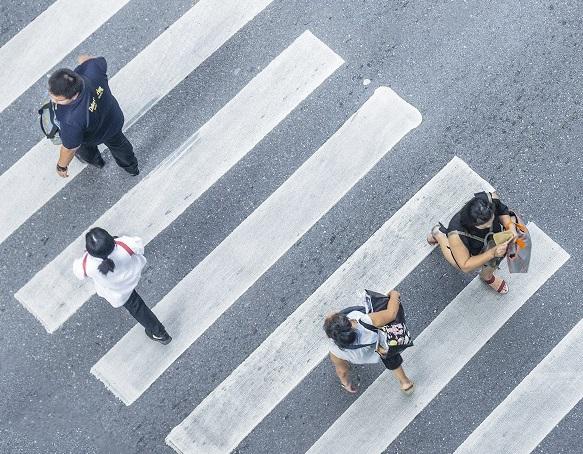 Pedestrian, Walking,